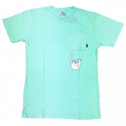 T-SHIRT RIPNDIP FALLING FOR NERMAL POCKET - MINT