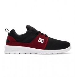 CHAUSSURES DC KID HEATHROW - BLACK / DARK RED
