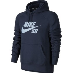 SWEAT NIKE SB HOOD ICON - OBSIDIAN / HYDROGEN BLUE