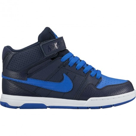 CHAUSSURES KID NIKE MOGAN MID - OBSIDIAN - GAME ROYALE
