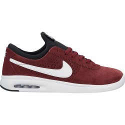 CHAUSSURES NIKE SB AIR MAX BRUIN VAPOR - DARK TEAM RED / WHITE