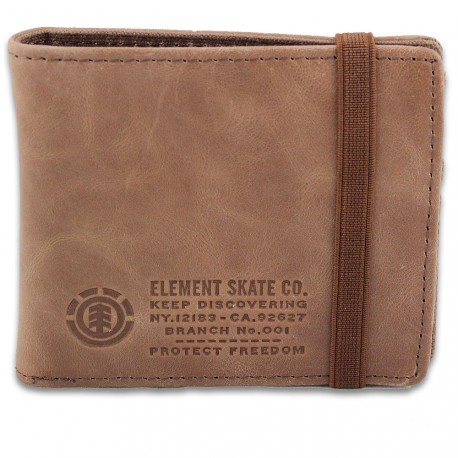 PORTEFEUILLE ELEMENT ENDURE L. WALLET - BROWN