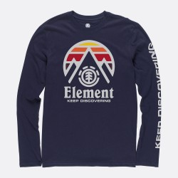 T-SHIRT LS ELEMENT TRI TIP - ECLIPSE NAVY