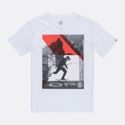 T-SHIRT KID ELEMENT LEVEL - OPTIC WHITE