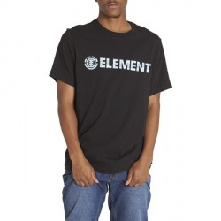 T-SHIRT ELEMENT PLYS BOY - BLACK