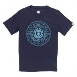 T-SHIRT ELEMENT ETCH BOY - ECLIPSE NAVY