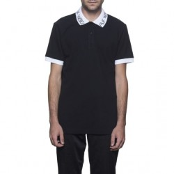 POLO HUF LETRAS - BLACK
