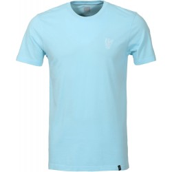T-SHIRT HUF COUNTRY CLUB OVERDYE - CRYSTAL BLUE
