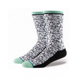 CHAUSSETTES STANCE MARK GONZALES GHOST - WHITE