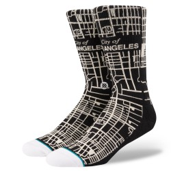 CHAUSSETTES STANCE CITY OF ANGELS - BLACK