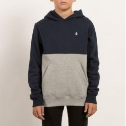 SWEAT VOLCOM KID SINGLE STONE DIVISION - NAVY
