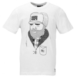 TEE SHIRT PICTURE - BARNSTON - WHITE