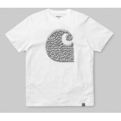 T-SHIRT CARHARTT DUCK SWARM - WHITE