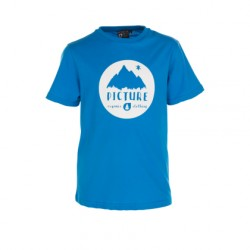 TEE SHIRT PICTURE KID - VINCH - BLUE