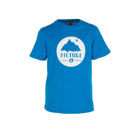 TEE SHIRT PICTURE ORGANIC KID - VINCH - BLUE