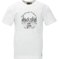 T-SHIRT PICTURE ISLAND - WHITE