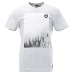 TEE SHIRT PICTURE - QUARY - GREY MELANGE