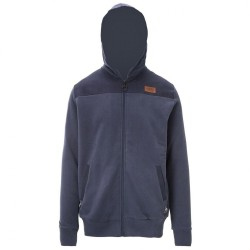 SWEAT PICTURE - LEVEL HOODIE ZIP - DARK BLUE