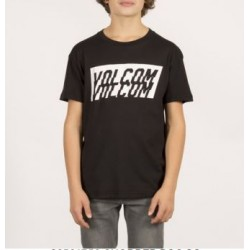 T-SHIRT VOLCOM KID CHOPPER - BLACK