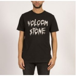 T-SHIRT VOLCOM SLUDGE - BLACK
