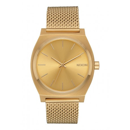 MONTRE NIXON TIME TELLER MILANESE - ALL GOLD