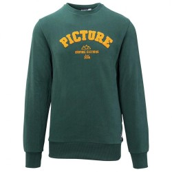 SWEAT PICTURE - ACADEMY - DARK GREEN