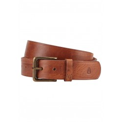 CEINTURE NIXON DNA - BROWN WASH