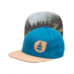 CASQUETTE PICTURE - NAROWS - PETROL BLUE