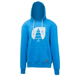 SWEAT PICTURE GLACIER HOODIE - BLUE