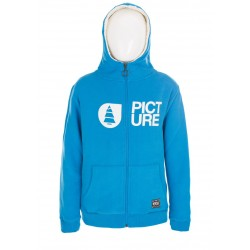 SWEAT PICTURE KIDS - BASEMENT PLUSH ZIP - BLUE