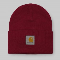 BONNET CARHARTT ACRYLIC WATCH HAT - BLAST RED