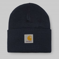 BONNET CARHARTT WIP ACRYLIC WATCH HAT - DARK NAVY