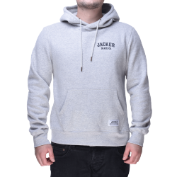 SWEAT JACKER HOOD TIGER CO. - HEATHER GREY