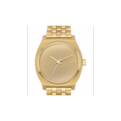 NIXON TIME TELLER - LIGHT GOLD / MIRROR