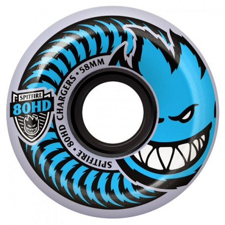ROUE SPITFIRE CHARGERS CONICAL 80HD 58MM - CLEAR