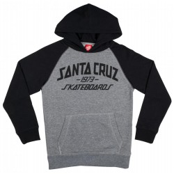 SWEAT SANTA CRUZ YOUTH HOODY ARCHY