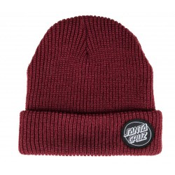 BONNET SANTA CRUZ - OUTLINE DOT BEANIE - BLOOD