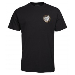 T-SHIRT SANTA CRUZ - ROCK TATTOO HAND - BLACK