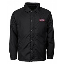 VESTE SANTA CRUZ - STATION COACH JACKET - BLACK