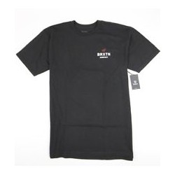 T-SHIRT BRIXTON PEABODY - BLACK