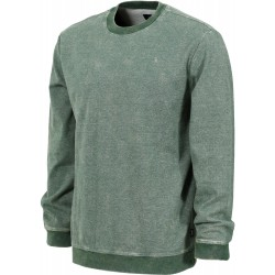 SWEAT BRIXTON LAKESHORE CREW - HEATHER GREEN