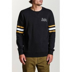 SWEAT BRIXTON BARTON CREW - BLACK