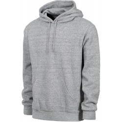 SWEAT BRIXTON BASIC HOOD FLEECE - HEATHER GREY
