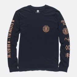 T-SHIRT ELEMENT CIPHER LS - BLACK