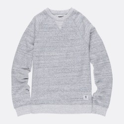 SWEAT ELEMENT MERIDIAN CREWNECK - GREY HEATHER