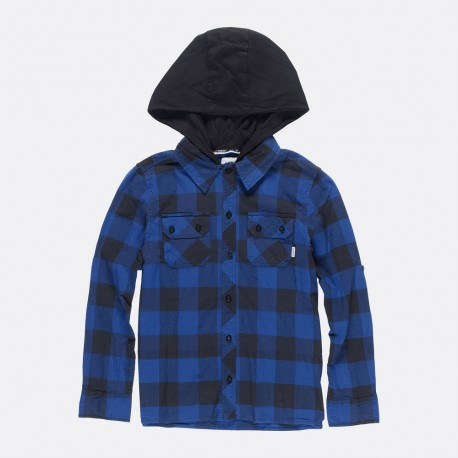 CHEMISE ELEMENT KID WESTCHASE - BLUE