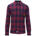 CHEMISE PICTURE ORGANIC COLTON - RED