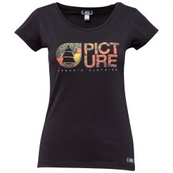 T-SHIRT PICTURE FEMME FALL - BLACK
