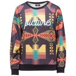 SWEAT PICTURE FEMME LUKACHUKAI - BLACK