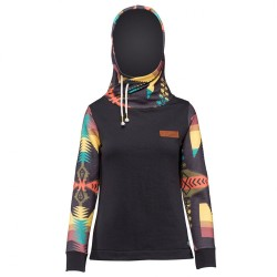 SWEAT PICTURE FEMME PLANER HOOD - BLACK